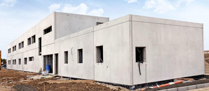Colegio Yuncos estructura hormigon