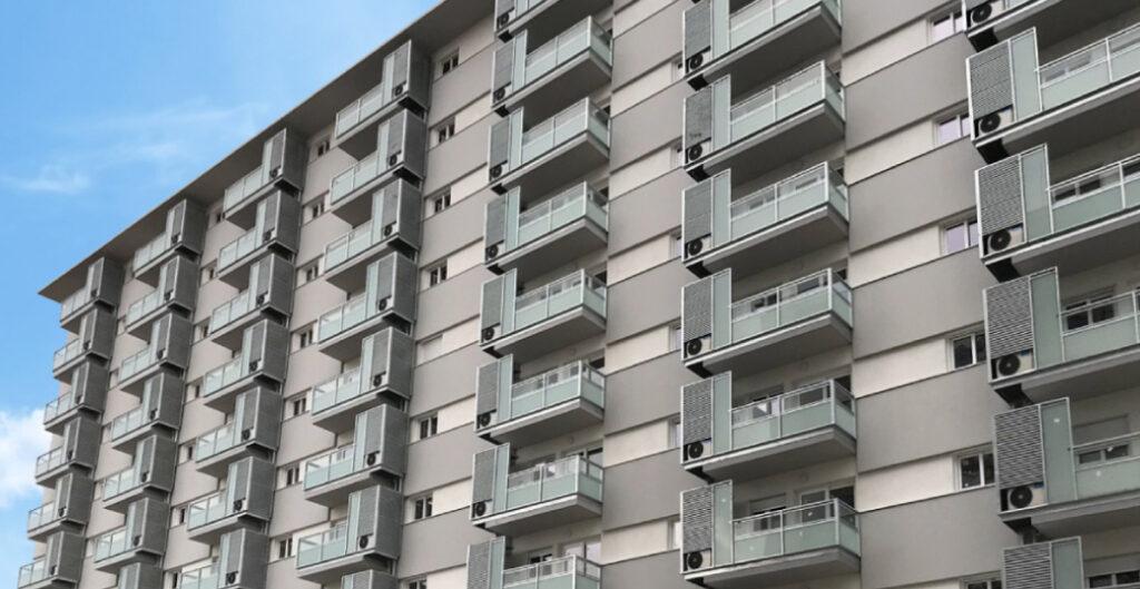 Fachadas de edificios en altura con paneles pre-industrializados de hormigón